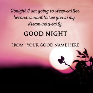 Good Night Whatsapp DP Profile Images Photo Wallpaper Pics