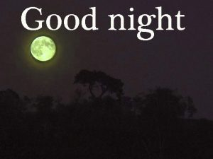 Good Night Photo Images Pics HD Download