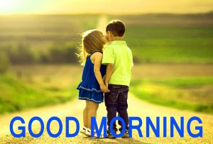 Romantic Lover Lover Couple Good Morning Images Wallpaper Photo Pics Download