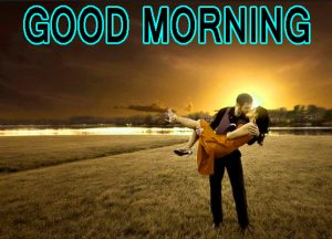 Romantic Lover Lover Couple Good Morning Images Wallpaper for Whatsapp