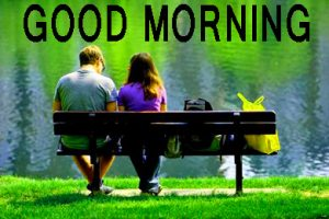Romantic Lover Lover Couple Good Morning Images Wallpaper Pic HD
