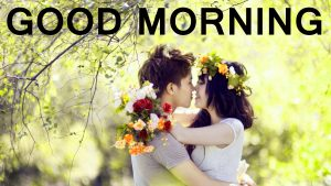 Romantic Lover Lover Couple Good Morning Images Photo for Whatsapp & Facebook
