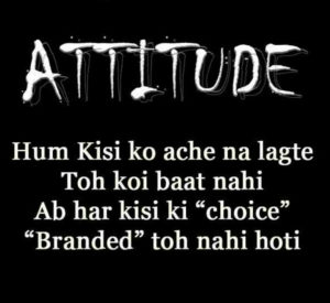 Hindi Attitude Status Images pics photo hd