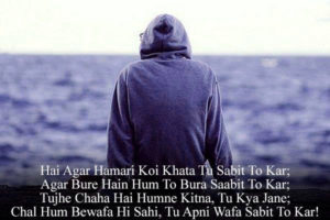 Latest Hindi Bewafa Shayari Images photo wallpaper free hd