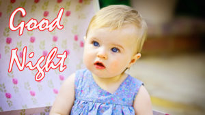Cute Baby Good Night Images wallpaper photo download