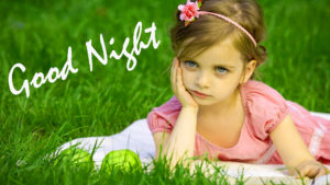 Cute Baby Good Night Images photo pictures free download
