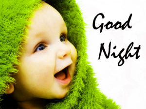 Cute Baby Good Night Images photo wallpaper download
