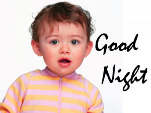 Cute Baby Good Night Images pics photo free download