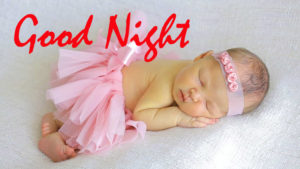 Cute Baby Good Night Images photo wallpaper free download