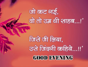 Good Evening Hindi Quotes Images pictures photo hd