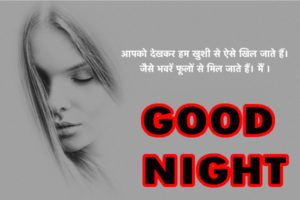 Hindi Quotes Good Night Images wallpaper free hd