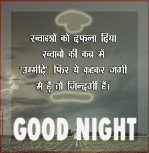 Hindi QuotesGood Night Images photo wallpaper download