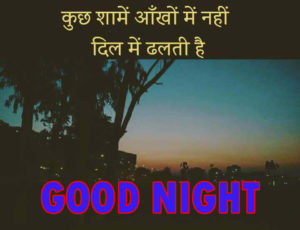 Good Night Love Images With Hindi Quotes wallpaper photo free hd download