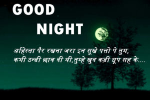 Good Night Love Images With Hindi Quotes wallpaper pics hd