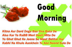 Hindi Shayari Good Morning images picture pics photo for friend