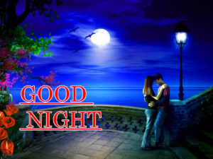 Romantic Lover Good Night Images pictures photo free hd download