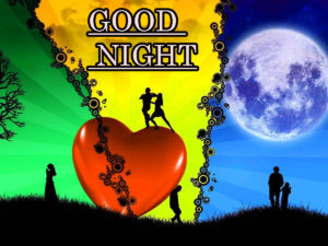 Romantic Lover Good Night Images pic photo free download