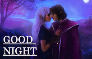 Romantic Lover Good Night Images pics wallpaper free download