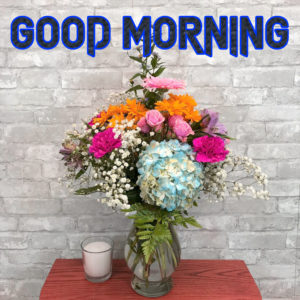 A Very Good Morning Images Wallpaper With Flower