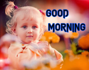 Good Morning Images Photo With Cute Baby