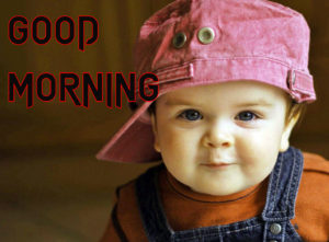 Good Morning Images Photo Pics With Cute Boy