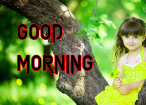 Latest HD Good Morning Images Wallpaper With Cute Baby