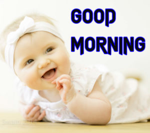 Good Morning Images Wallpaper With Baby