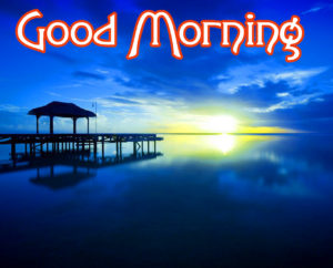 Good Morning Wishes Pics With Sunrise