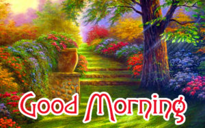 Good MorningWishes Pics Photo Wallpaper With Nature