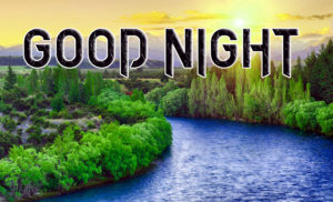 Good Night Photo HD Images Pics With Beautiful Nature
