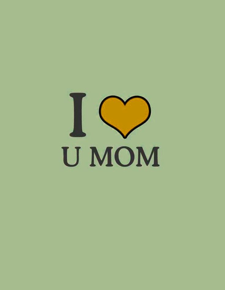 best i love u mom whatsapp dp