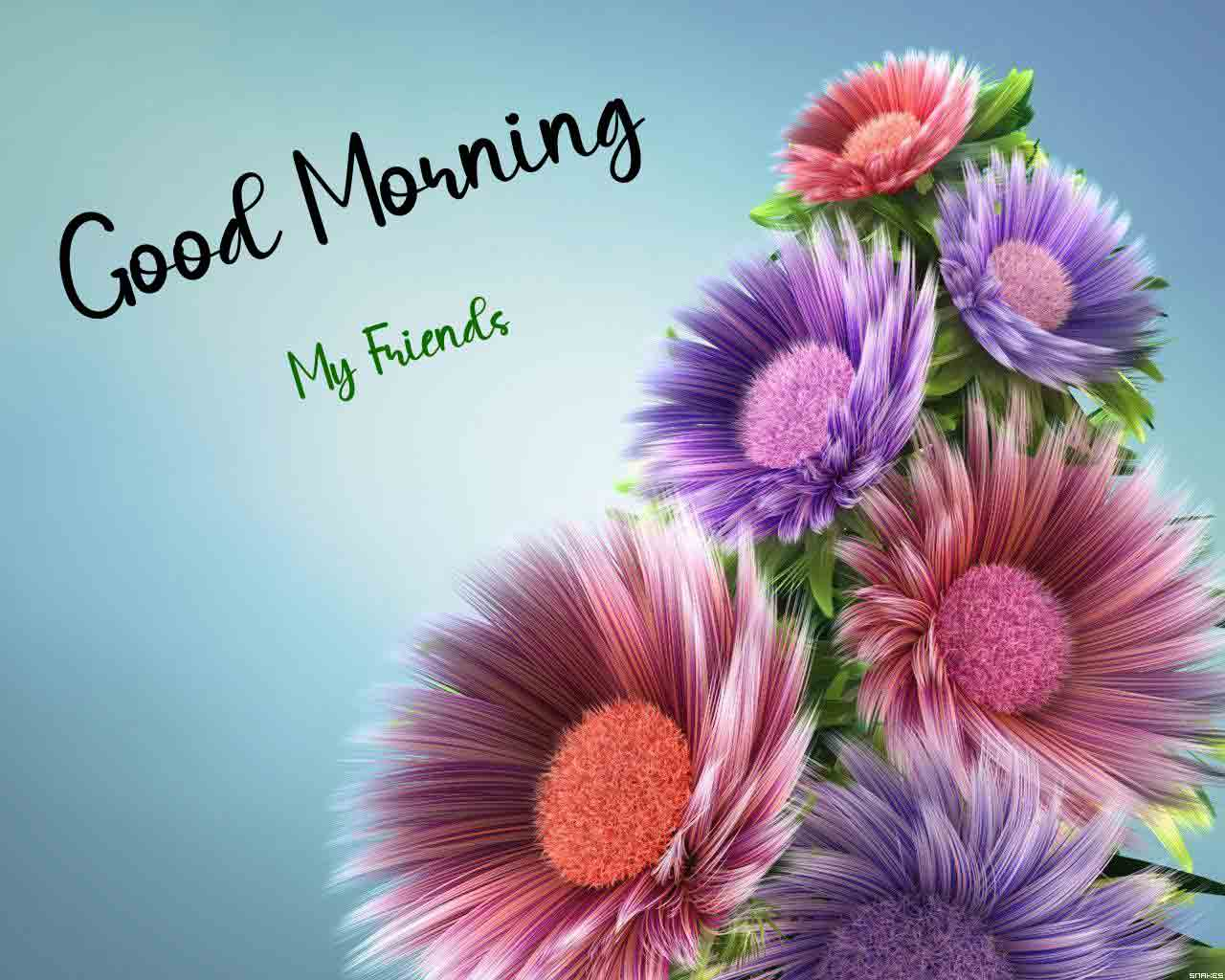 colorful Good Morning free download