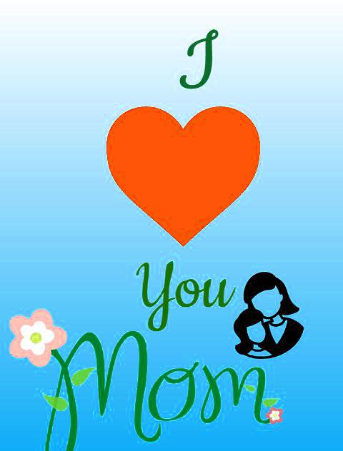 heart mom whatsapp dp wallpaper