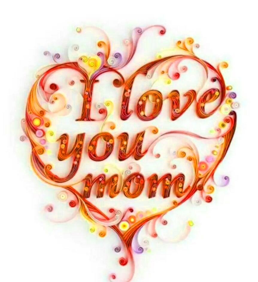 heart whatsapp dp mom profile hd