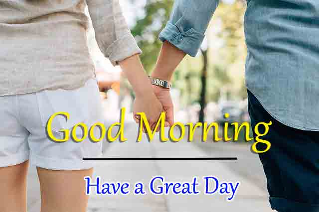 holding hand Good Morning Wishes for girlfriend pics