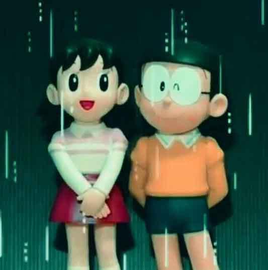 latest nobita shizuka whatsapp dp hd free