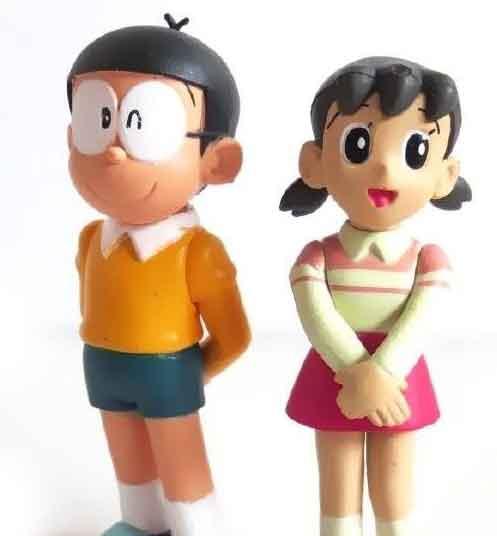 latest small nobita shizuka whatsapp dp pics hd