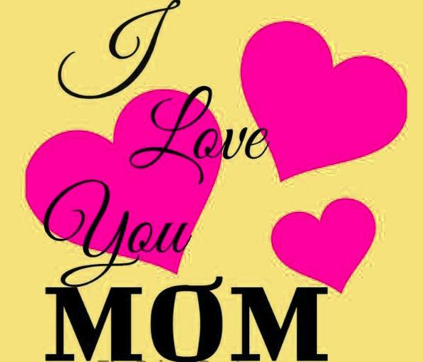 love you mom whatsapp dp wallpaper