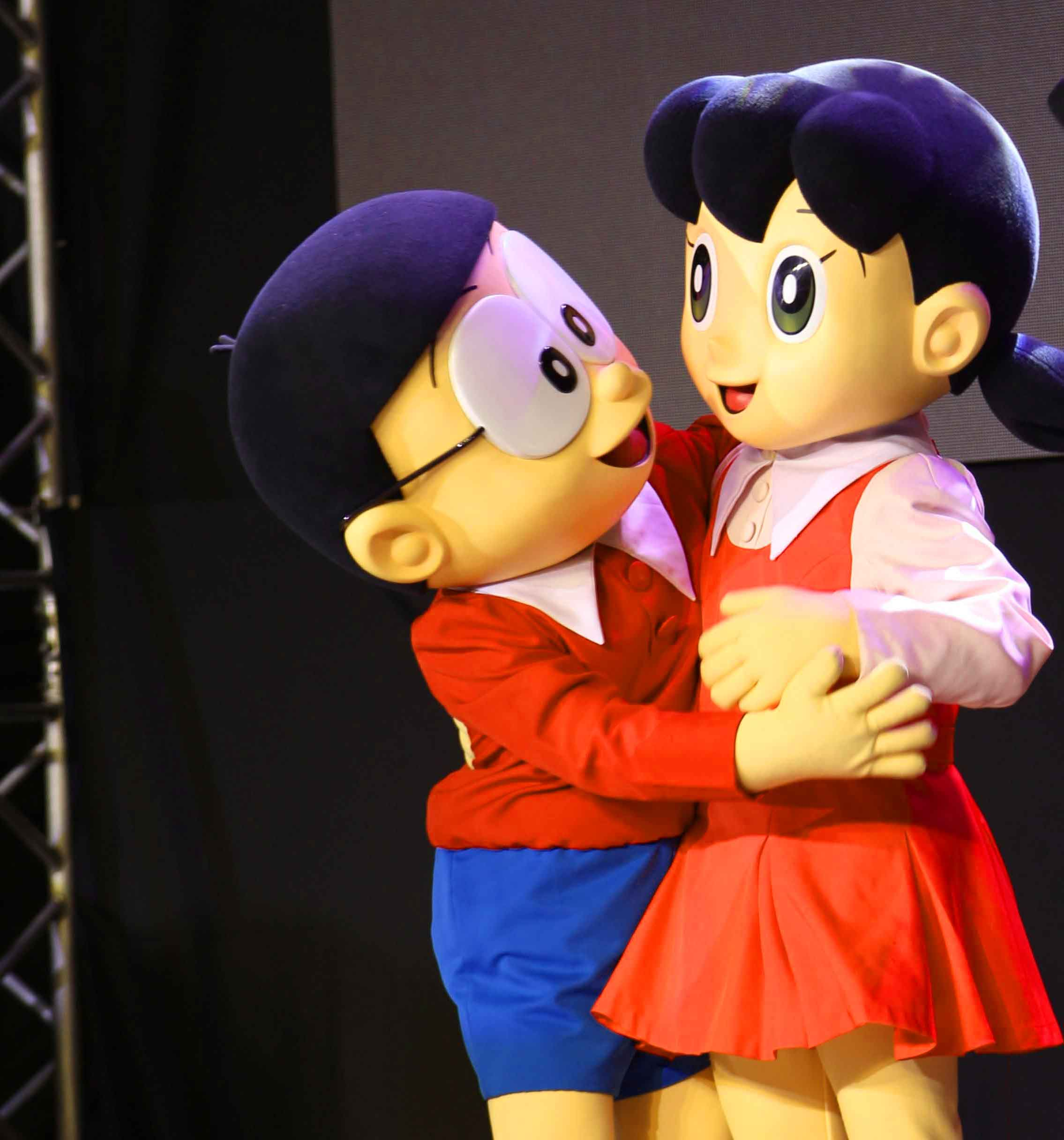 romantic nobita shizuka whatsapp Profile pics hd