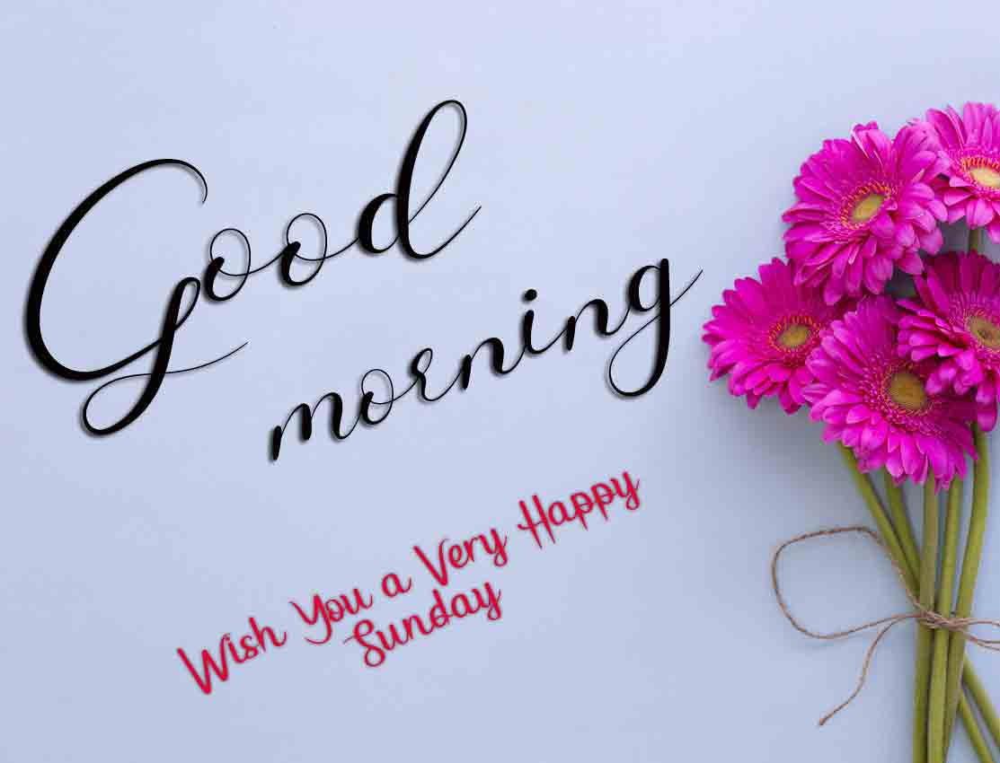 Best Good Moring Happy Sunday pictures hd