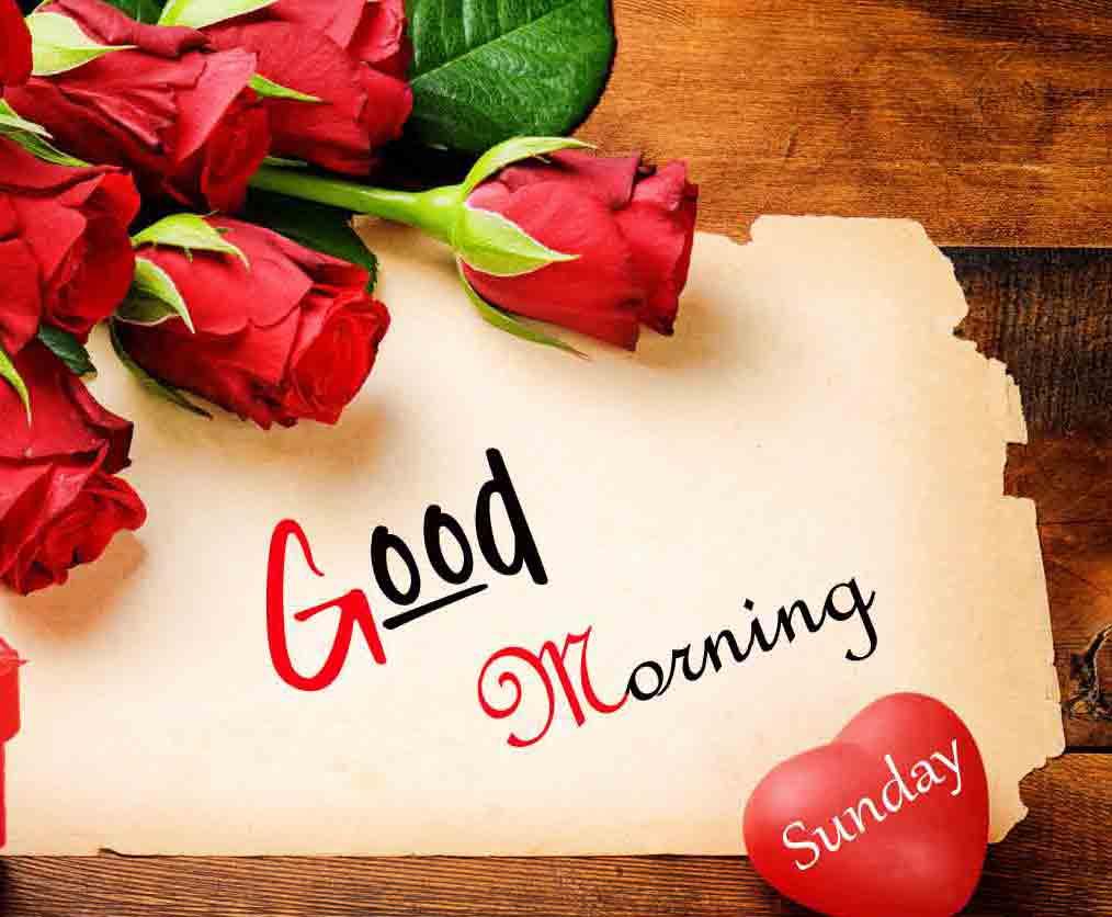 Good Moring Happy Sunday photo hd download