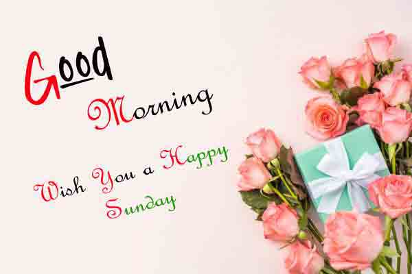 Good Moring Happy Sunday photo pictures free download