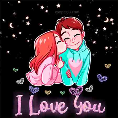 I Love You Whatsapp Dp Images pics for couple