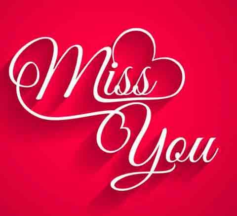 I Miss You Images for boy