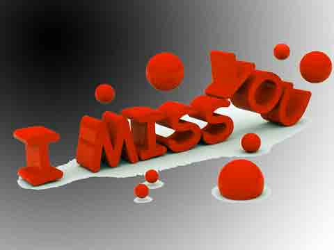 I Miss You Images for my baby