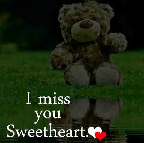 I Miss You Images for my sweetheart