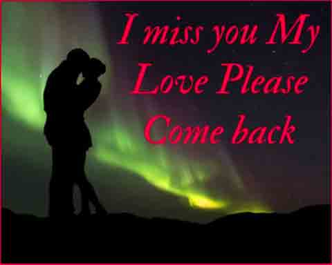 I Miss You Images pics for love couple