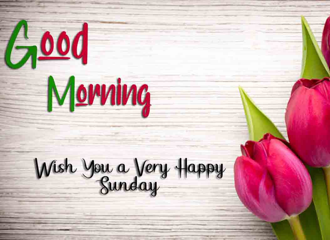 Nice Good Moring Happy Sunday photo free d