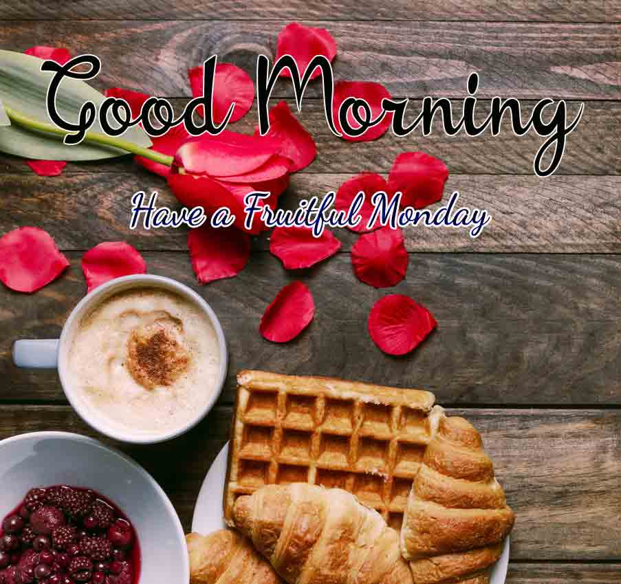 Nice Monday Good Morning Images pics for facebook