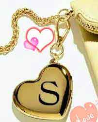 cute heart S letter Profile images hd